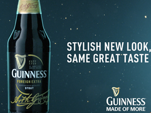 Guinness Motion Graphics Story board
