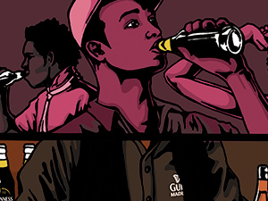 Guinness Illustration concept art
